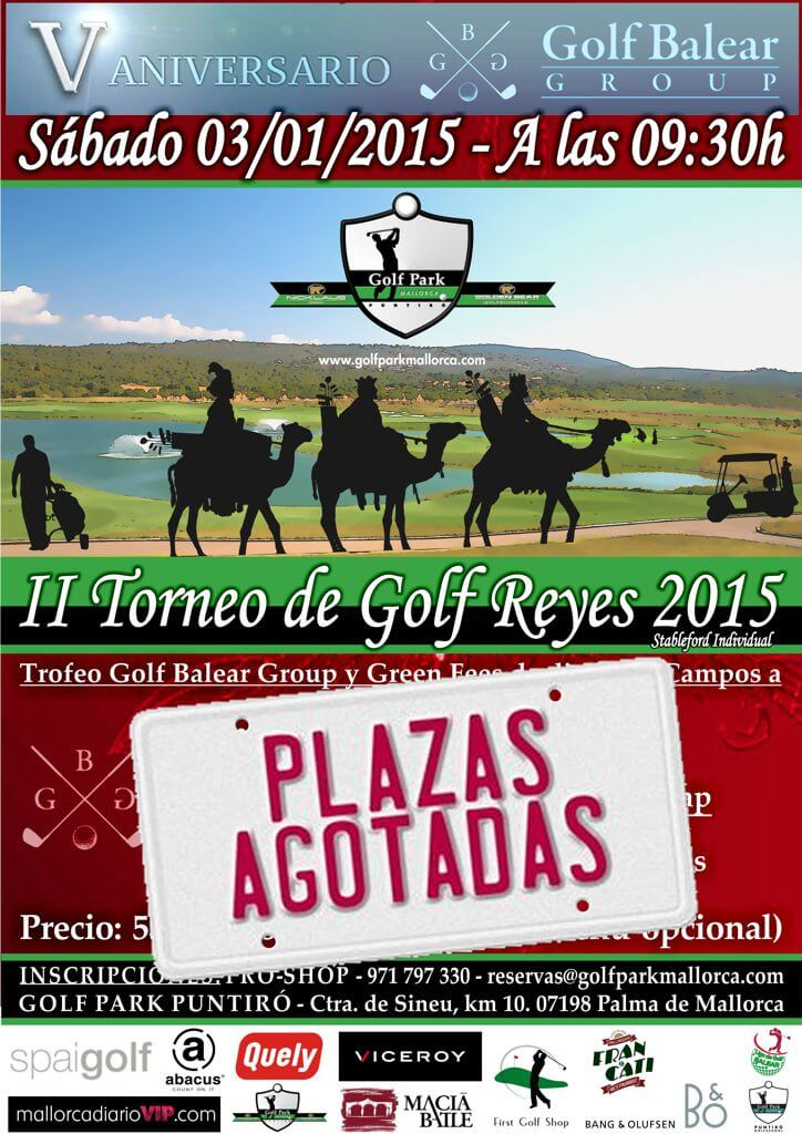 II Torneo Golf Balear Group Reyes 2015