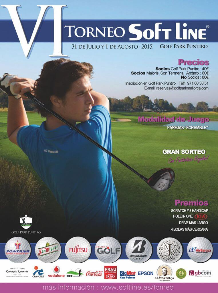 VI Torneo de Golf SOFTLINE