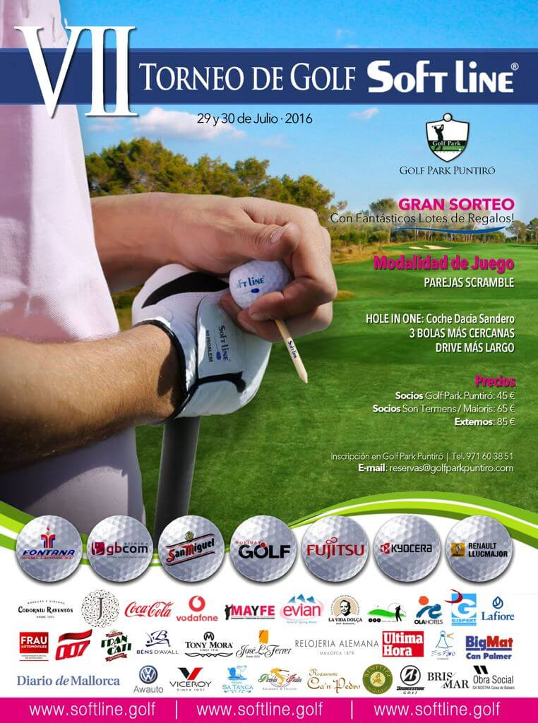 VII Torneo de Golf SOFTLINE