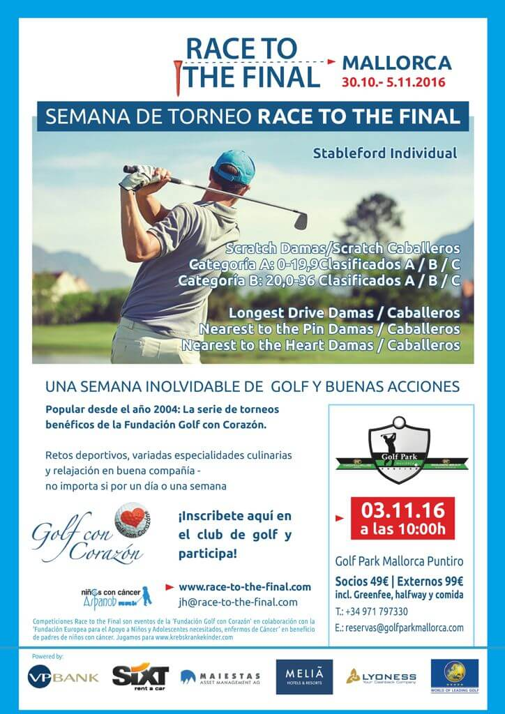Torneo Golf con Corazón – Race to the Final