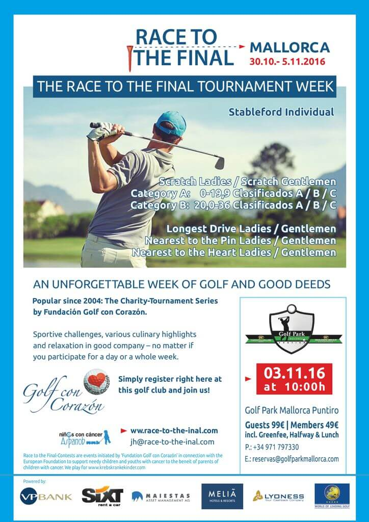 Tournament Golf con Corazón – Race to the Final