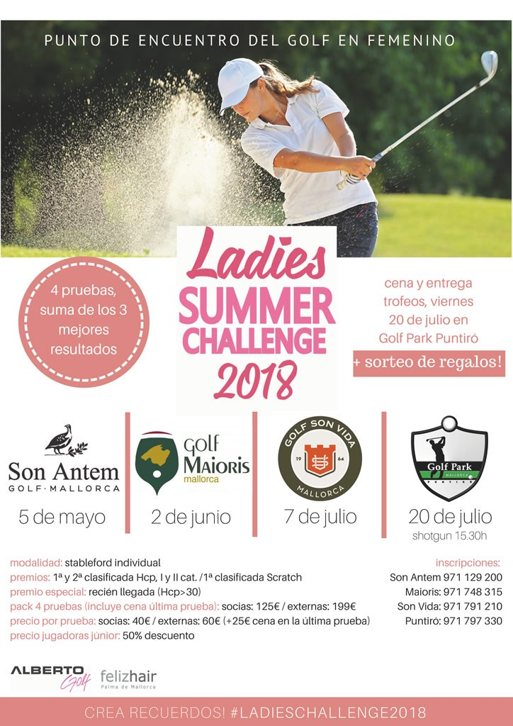 Ladies Summer Challenge 2018