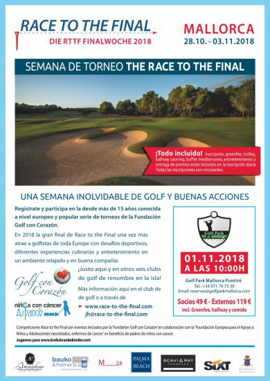 Golf con Corazón – Race to the Final 2018