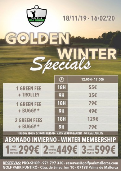 Winter Offers 2019-20